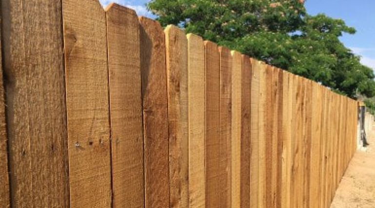 Wood fences are great if you are looking for that wood look on your property. The need more care and maintenance over time, but can be a great option for any property to create privacy and security!